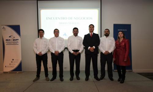 Exitoso encuentro de negocios AIA reunió a Minera Meridian y empresas proveedoras