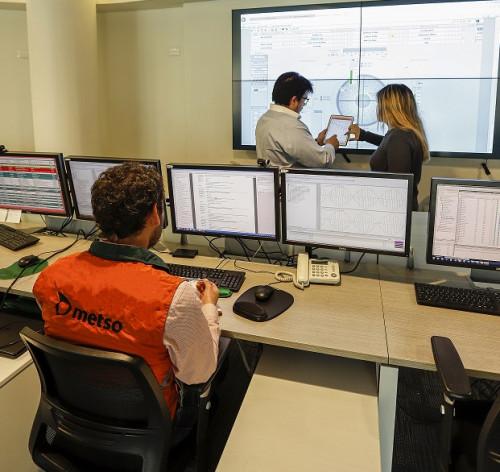 Metso acelera las inversiones en servicios de monitoreo remoto en Chile y China