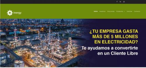 Inergy estrena nuevo sitio web