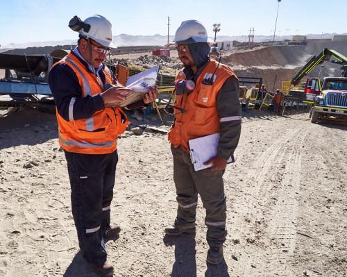 División Gabriela Mistral realiza inspecciones cruzadas de seguridad entre áreas operativas