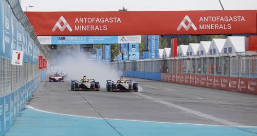 Fórmula E: Piloto alemán gana el Antofagasta Minerals Santiago E-Prix 2020