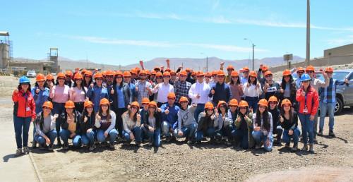 Minera Candelaria inició programa de prácticas profesionales de verano