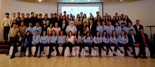 Un 75% de los jóvenes recién ingresados como practicantes en faenas del norte de Antofagasta Minerals pertenece a la región