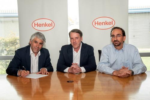 Henkel Chile firma contrato con Enel Distribución para suministrar energía 100% renovable