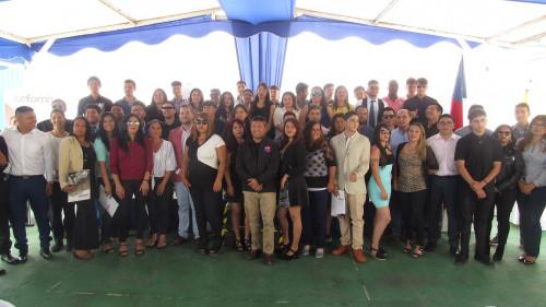 Formación de capital humano:102 jóvenes de la región se certifican como mantenedores para la industria minera