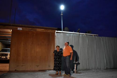 """Agricultores del sector """"Flor de Alfalfa"""" mejoran su calidad de vida con la energía solar"""