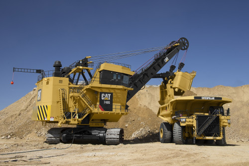Proyecto de Finning en Chile convierte a la Pala eléctrica 495HR/7495 en la más productiva de Cat en el mundo