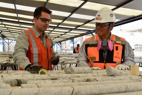 Gerencia de Recursos Mineros y Desarrollo de Chuquicamata refuerza liderazgo en terreno