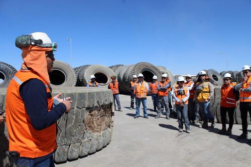 Empresas colaboradoras del área mina intercambian experiencias en Gabriela Mistral