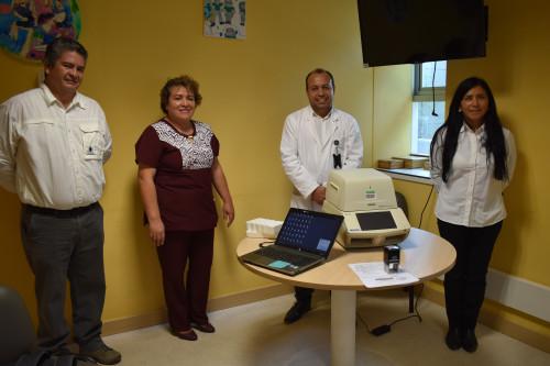 Codelco entregó equipo al hospital Carlos Cisterna de Calama para detectar el COVID-19