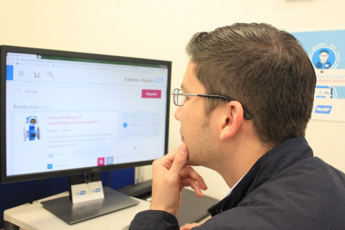 Endress + Hauser lanza nueva versión de su plataforma E-Commerce