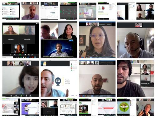 Endeavor realizó por primera vez Match VC en formato virtual