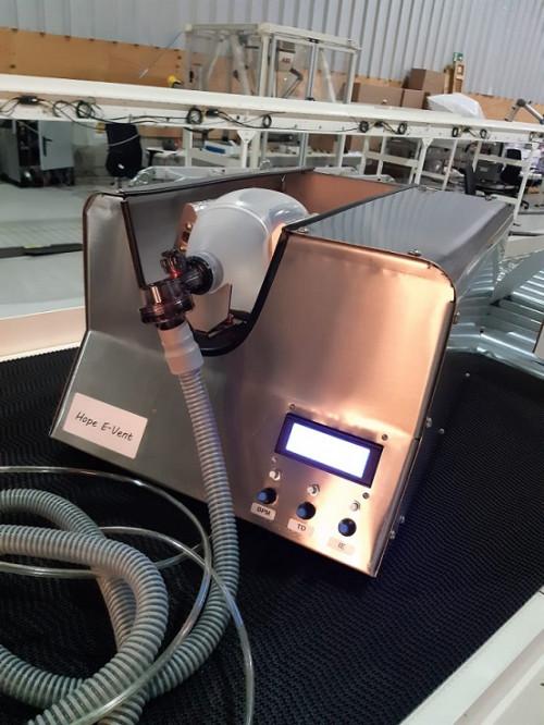 Empresas socias de Minnovex AG se unen para desarrollar Hope E-vent – Proyecto ventilador mecánico de emergencia