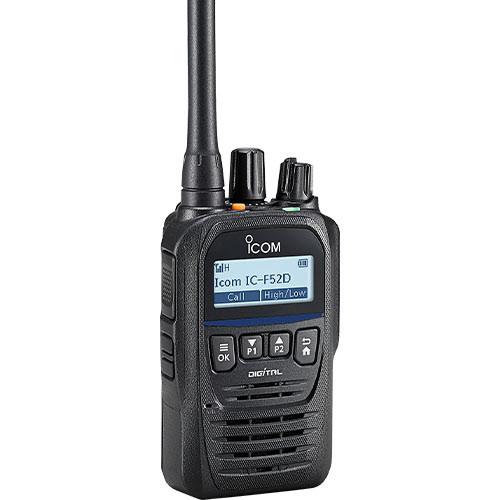 Tectel destaca los atributos del radio sumergible F52D de Icom