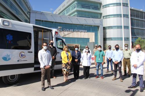 Minera El Abra dona ambulancia e insumos de protección sanitaria para ayudar a enfrentar el Covid-19 en Calama