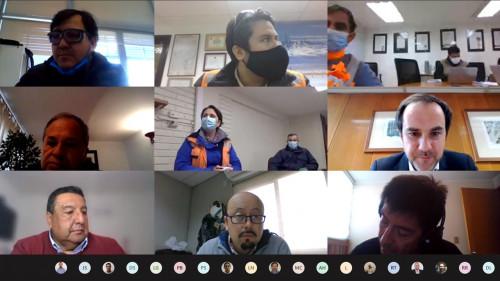 Sernageomin se reúne actores de la industria minera para analizar e implementar medidas de seguridad y Covid-19
