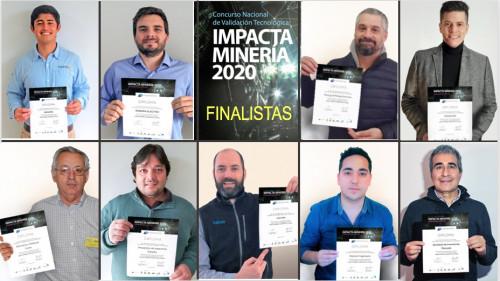 Finalistas presentan sus innovaciones al Jurado de Impacta Minería 2020