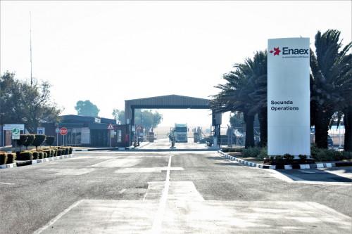 Enaex entra al mercado africano al ingresar a la propiedad de Sasol South Africa Limited