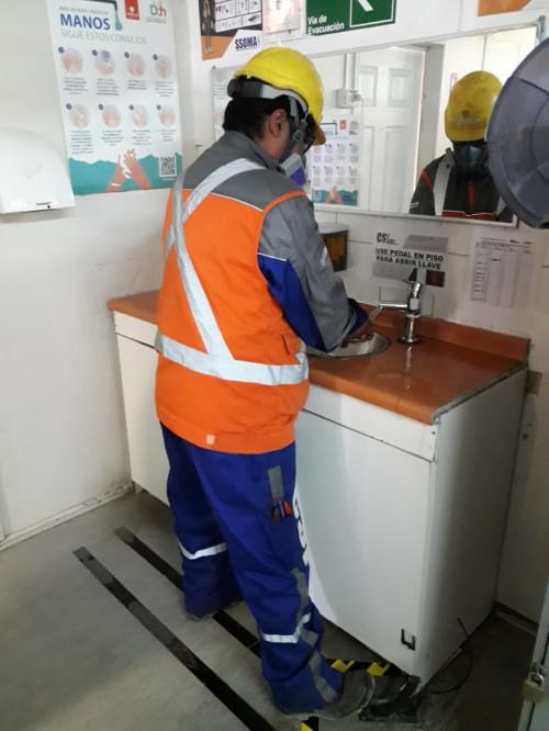 Integrantes de Chuquicamata impulsan y mejoran ideas para prevenir el Covid-19