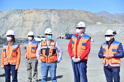 Ministro Prokurica visita proyecto de expansión de Mina El Romeral que permitirá mantener y generar nuevos empleos en la zona
