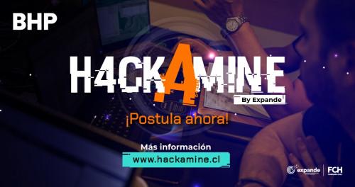 Expande abre convocatoria para segunda Hackamine de BHP en Chile