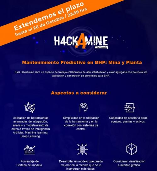 Expande abre convocatoria para segunda Hackamine de BHP en el país