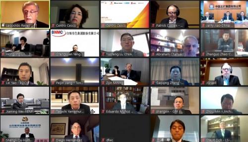 CEOs de la minería del cobre se reúnen y analizan la respuesta de la industria frente a la pandemia