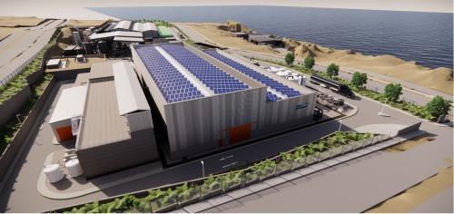 Aguas Antofagasta avanza en proyecto Fase 2 de Desaladora Norte