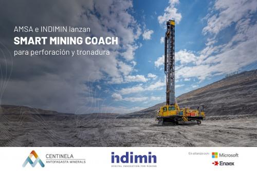 Minera Centinela incorporará inteligencia artificial de Smart Mining Coach en su faena