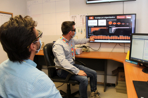 Tecnología de manejo de datos permite optimizar gestión en la Mina de División Gabriela Mistral
