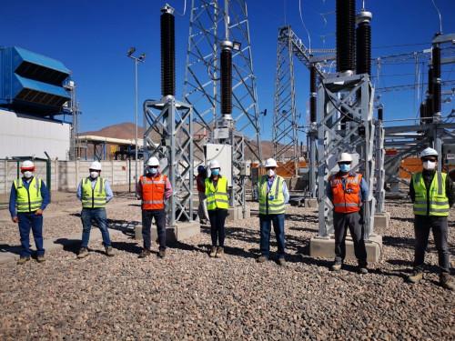 Parque solar Río Escondido logra con éxito conexión hasta la subestación Cardones