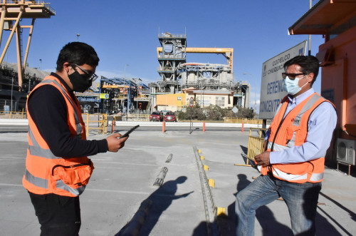 Actividades de aseo de Concentradora de Chuquicamata se realizan por medio del SisApp C+