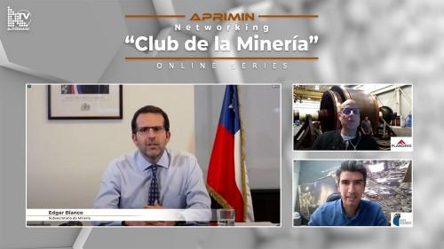 """Subsecretario Blanco en Networking de Aprimin: """"Queremos que la minería al 2050 sea competitiva y reconocida internacionalmente"""""""