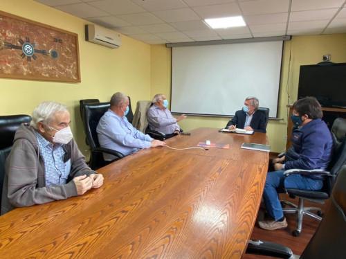 Vicepresidente ejecutivo de Enami se reúne con representantes de la pequeña minería de Atacama