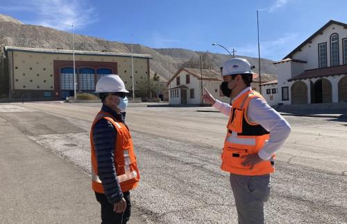 Gerente General de Chuquicamata supervisa en terreno los proyectos de mejora del campamento