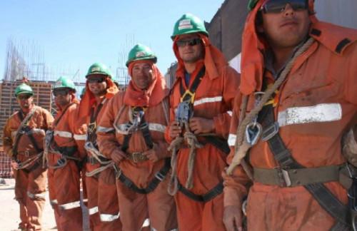 Sonami: Empleo en la industria minera exhibe leve descenso