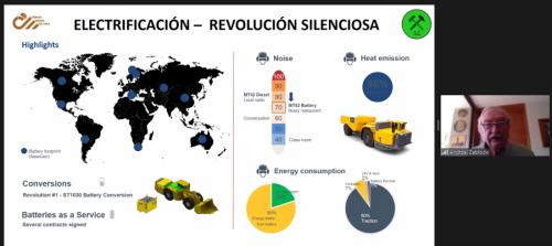 Webinar de la Cámara Minera de Chile aborda los avances de las nuevas tecnologías en la minería subterránea
