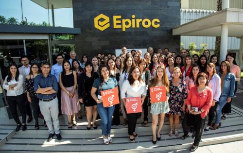 Epiroc obtuvo certificación en la Norma 3262 de Igualdad de Género y Conciliación