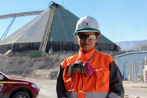 Chuquicamata tiene a su primera superintendenta de Operación Planta de la gerencia de Extracción y Lixiviación
