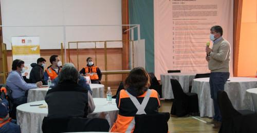 Gerente de Seguridad de Chuquicamata realizó potente llamado para afrontar el último trimestre