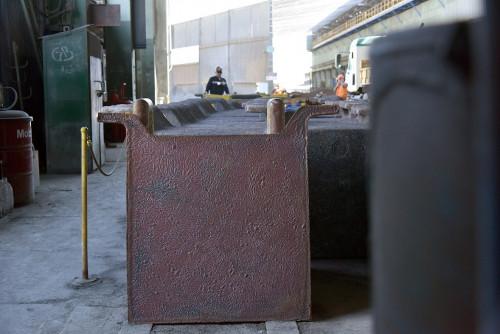 Minera licita transporte de cátodos de cobre