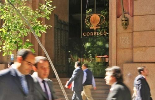 Codelco anuncia cambios en su alta dirección