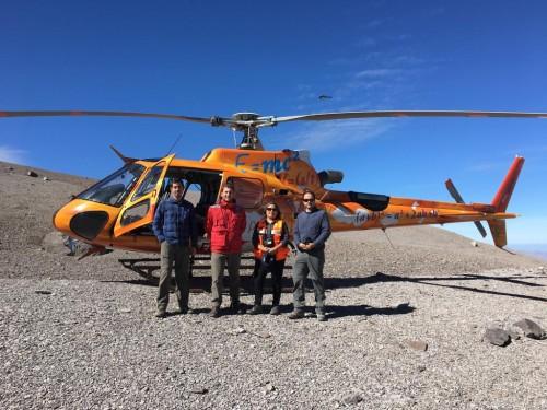 Subsecretario de Minería junto a Sernageomin monitorean reserva Yerba Loca