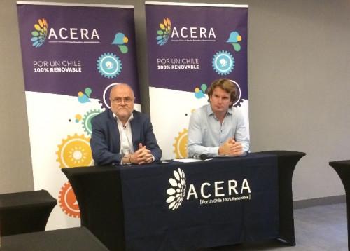 """Acera: """"El cronograma confirma que las energías renovables son y serán la principal fuente de generación energética de Chile"""""""