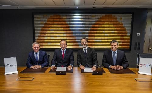 Collahuasi y Enel firman el mayor contrato de energía 100% renovable en Chile