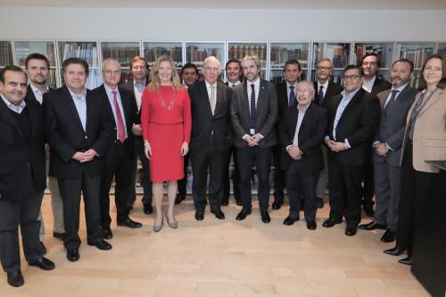 Comité de Empresas de SONAMI se reúne con Ministro Blumel