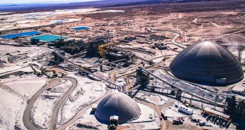 Antofagasta Minerals incrementa en un 22% su producción de cobre fino durante el primer semestre
