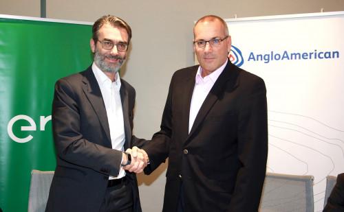 Anglo American y Enel firman contrato de abastecimiento de energía 100% renovable