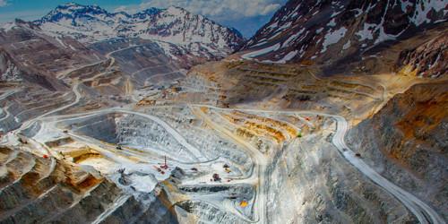 Producción de las cinco mayores mineras de cobre del país cae 5% a septiembre