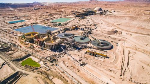 Antofagasta Minerals registra producción récord de 770.000 toneladas de cobre fino en 2019